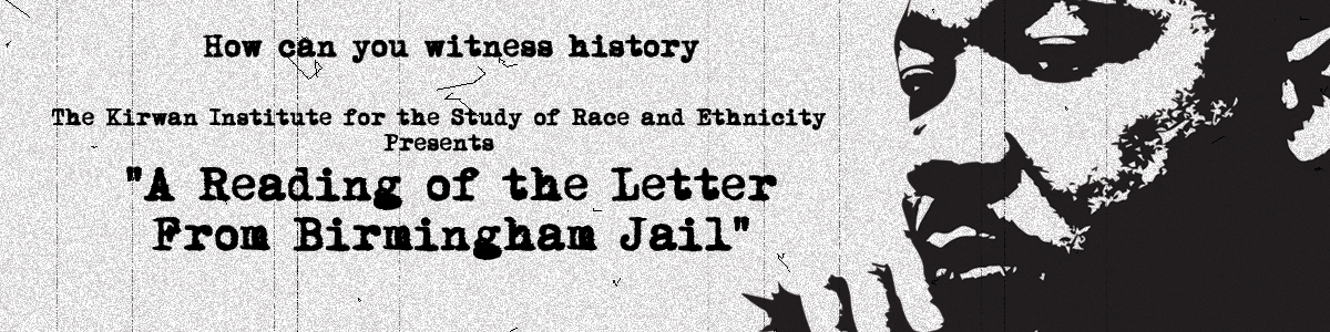A Reading From The Letter from Birmingham Jail